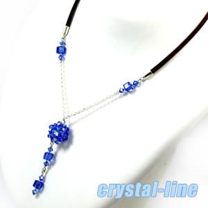 hub-elong-naszyjnik-crystal-line-sapphire-ab